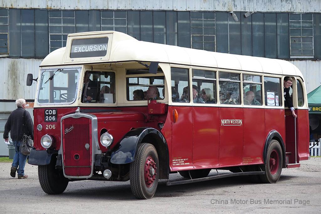 North Western嘅Weymann車身Bristol L5G