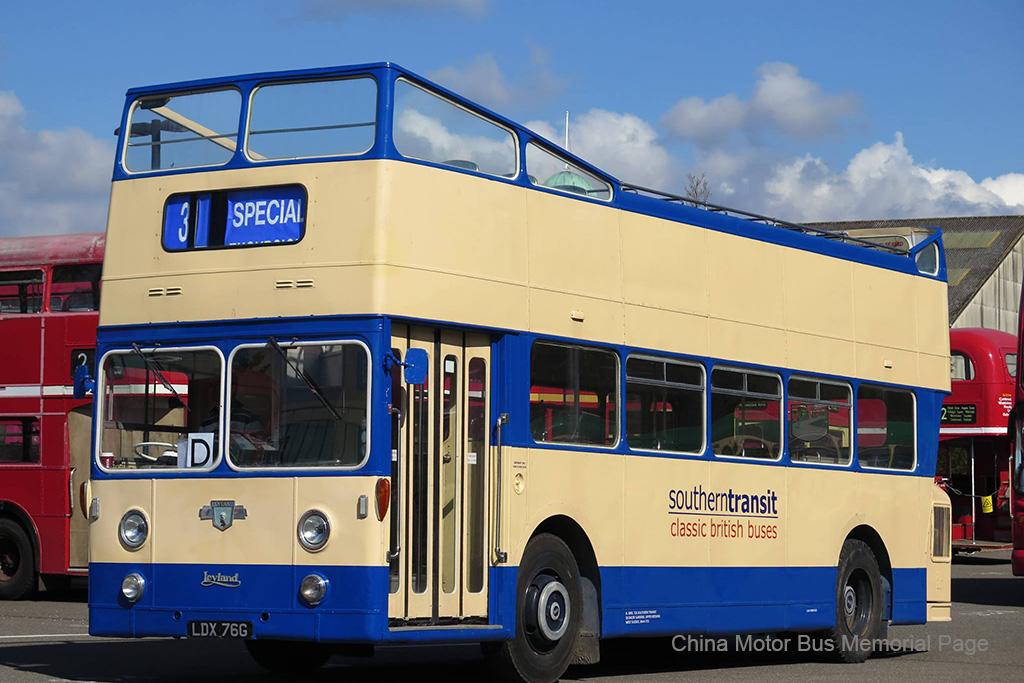 原屬Ipswich Corporation嘅Leyland Atlantean PDR1/1