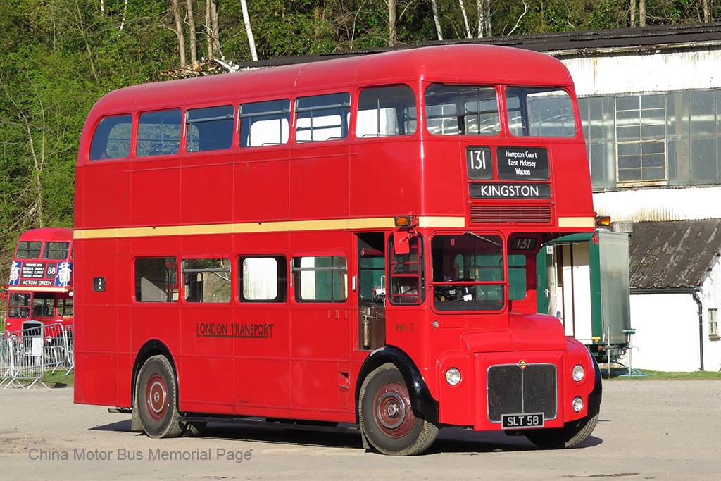 Weymann車身AEC Routemaster樣辦車RML3 (當時個L字指利蘭引擎,後來改稱RM3)
