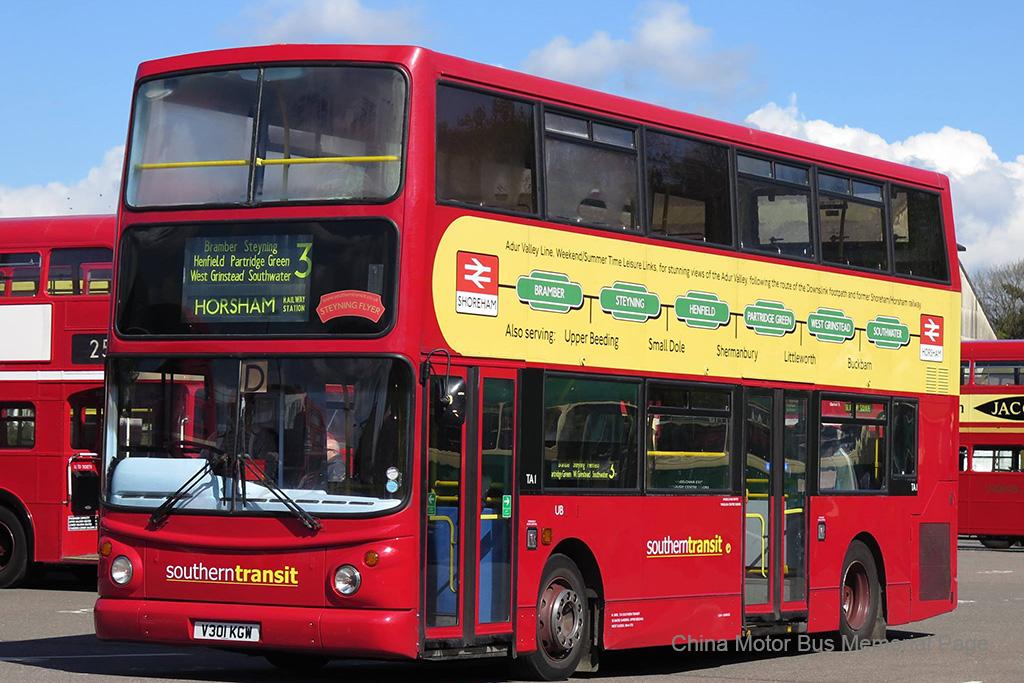 曾先後屬於Connex Bus同Travel London嘅中梯ALX400車身Trident