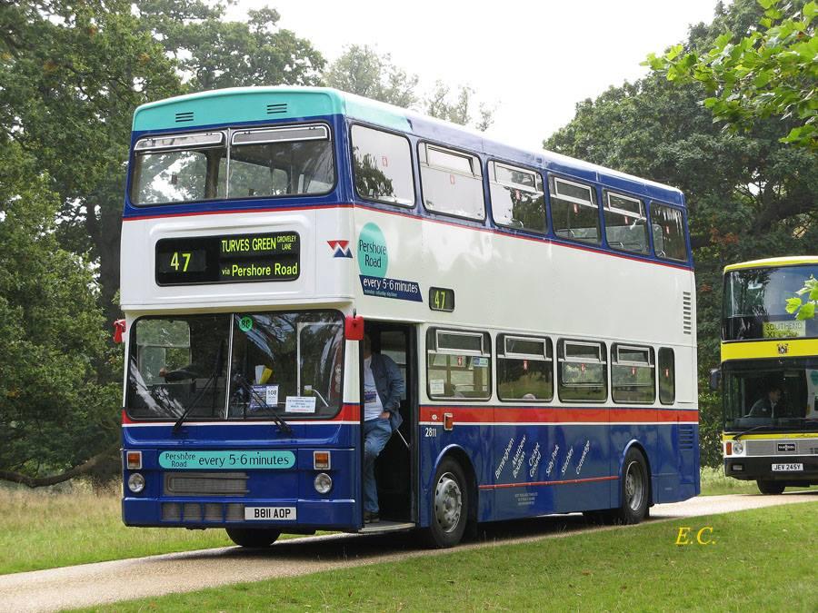 叱詫伯明翰三十載﹐ 都城巴士絕對是伯明翰的象徵。