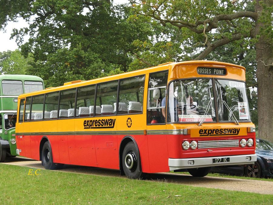 前愛爾蘭 Bus Eireann ﹐ 配 CIE 車身的利蘭 Tiger。