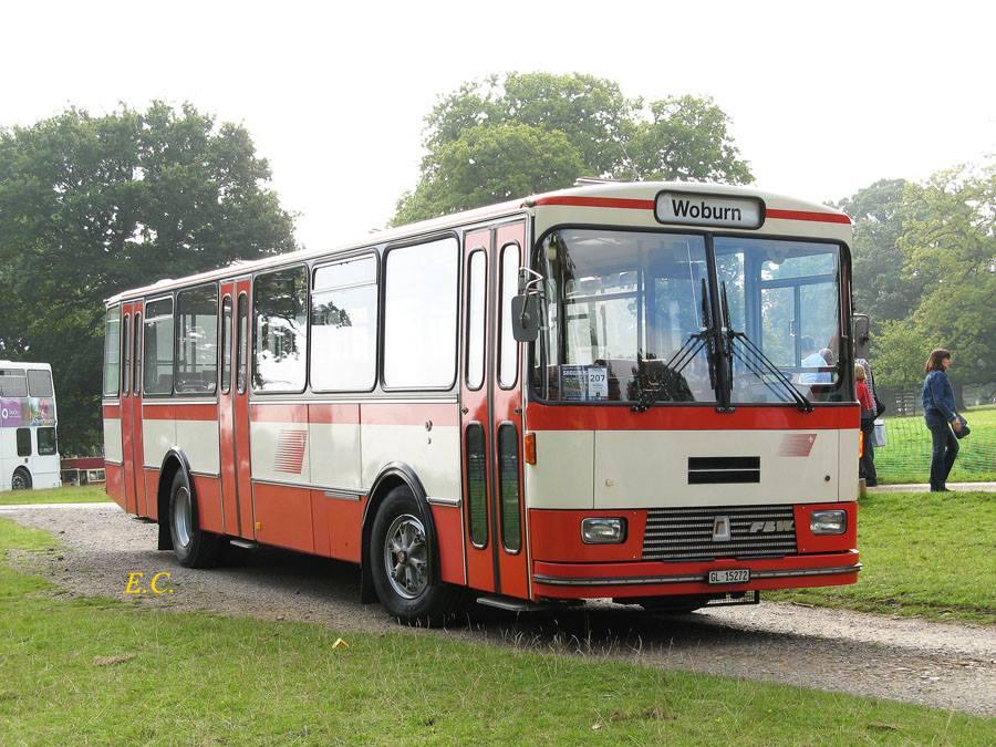 FBW BU518 5OU 配 Ramseier & Jenzer 車身﹐ 是一部舊的瑞士巴士。