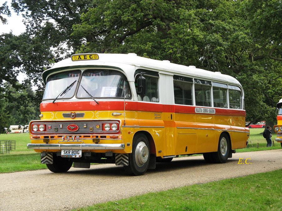 連馬耳他巴士也有兩部﹐ 第一部是 Bedford SB 配 Debono 車身。